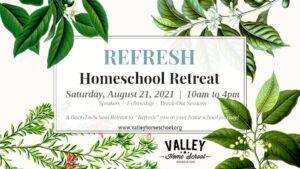 Refresh Retreat Homeschool 2021
